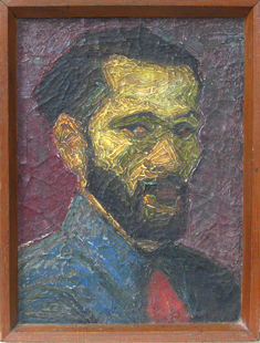Photo of Vishnu Chinchalkar's Self Portrait Painting